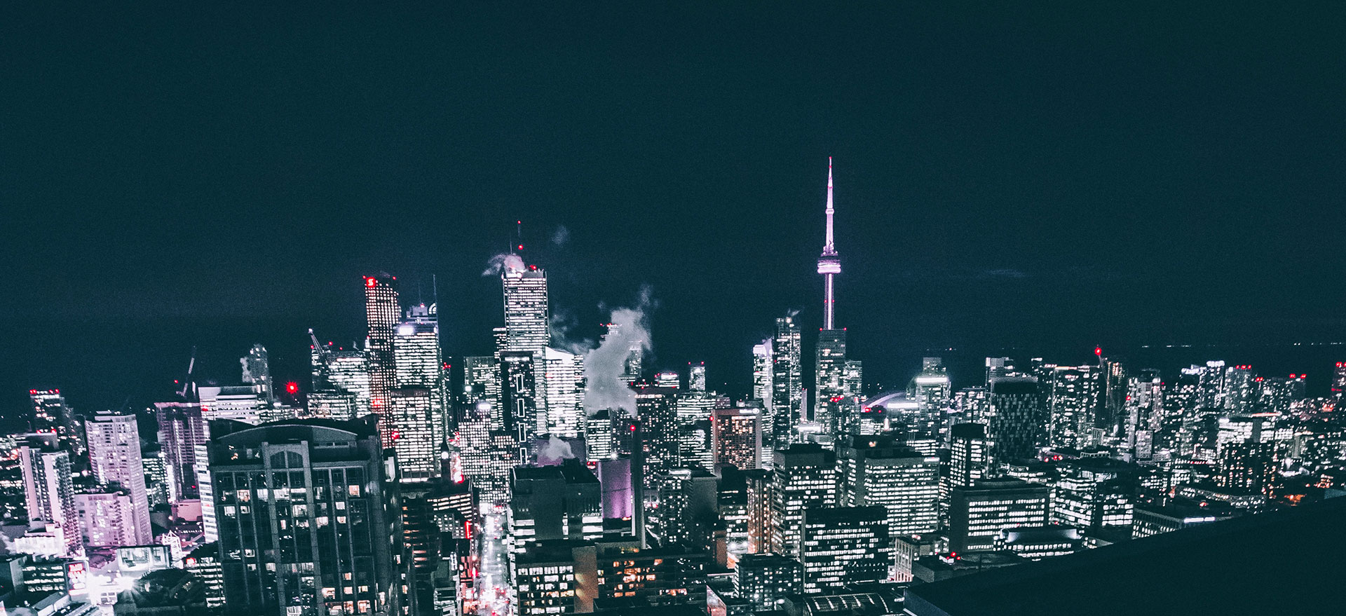 Bivek Toronto Skyline Ontario background